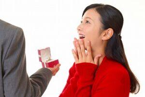 彼氏からプロポーズされた