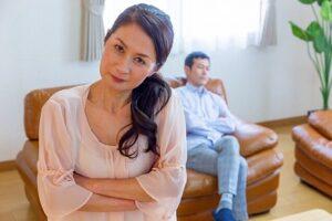 離婚を決意した妻
