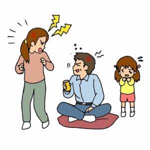 夫婦喧嘩は子どもに影響