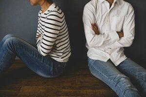 夫婦の不仲が別居原因