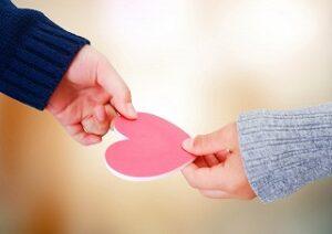 愛情が伝わる
