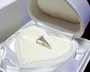 結婚の約束ができた