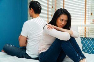離婚危機の夫婦