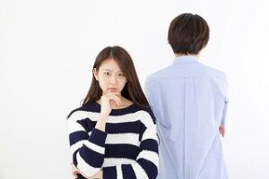 新婚夫婦の喧嘩