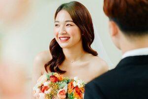 彼氏と結婚できて嬉しい
