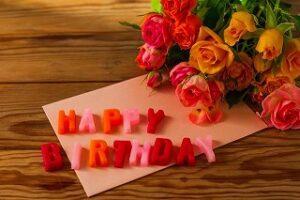 誕生日のメッセージ
